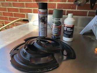 Brake Dust Shields (2)