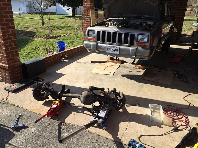 Front Axle Removal (5)